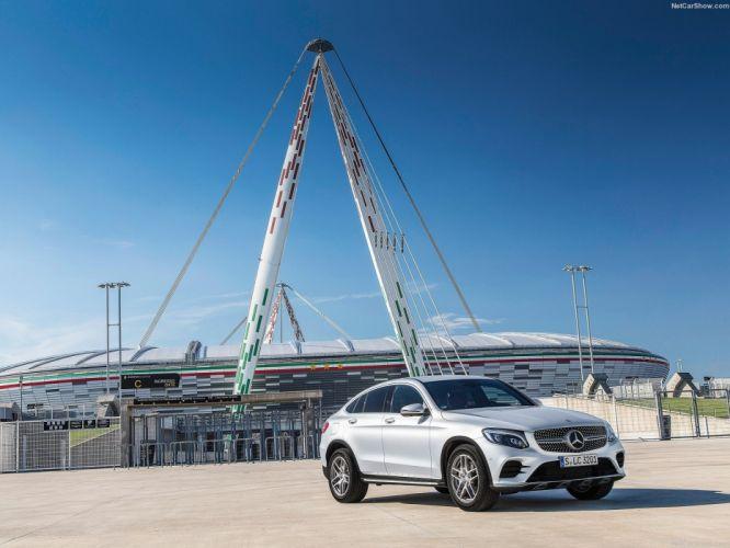 Mercedes Benz GLC Coupe cars suv 2016 wallpaper
