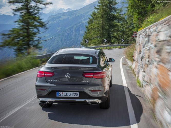 Mercedes Benz GLC Coupe cars suv 2016 wallpaper