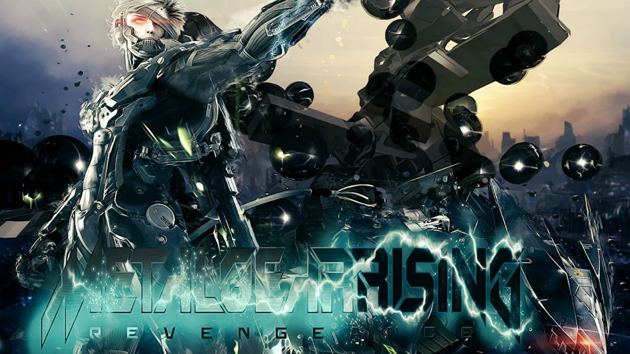 METAL GEAR game action fighting military shooter tactical warrior video solid stealth war sci-fi futuristic science fiction technics rising revengeance raiden wallpaper