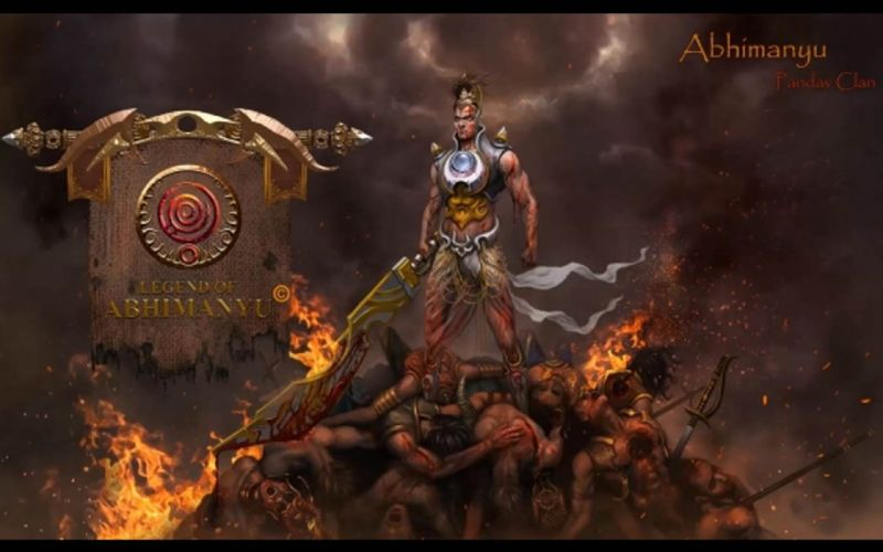 Abhimanyu Mobile game Legend of Abhimanyu wallpaper