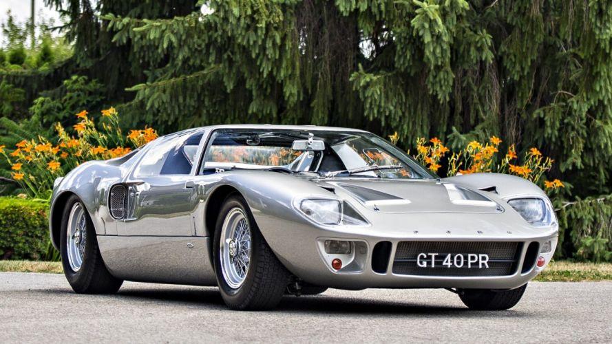 1966 FORD GT40 MKI cars classic wallpaper