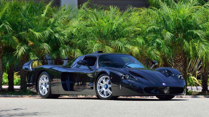 2005 MASERATI MC12 cars supercars wallpaper