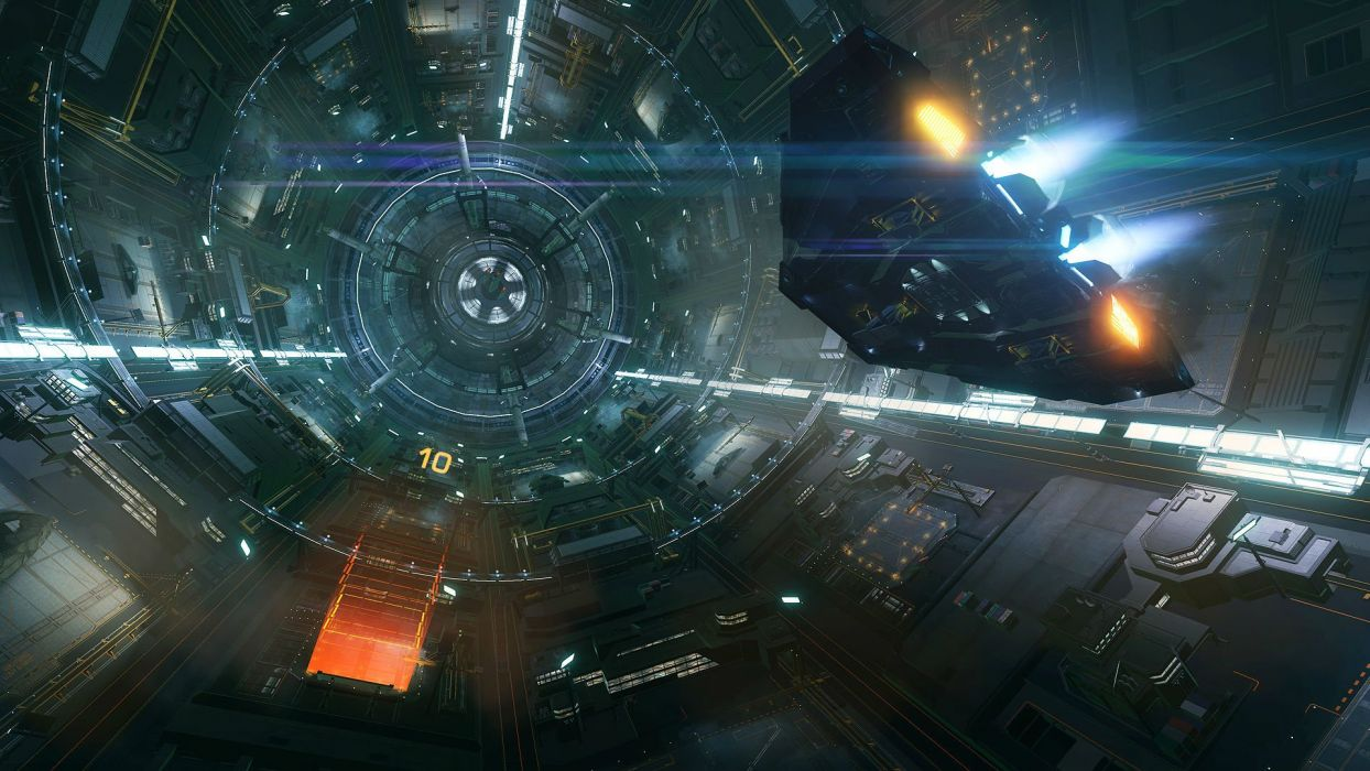 ELITE DANGEROUS action adventure artwork futuristic mmo online rpg sci-fi simulator space spaceship science fiction game video shooter technics wallpaper