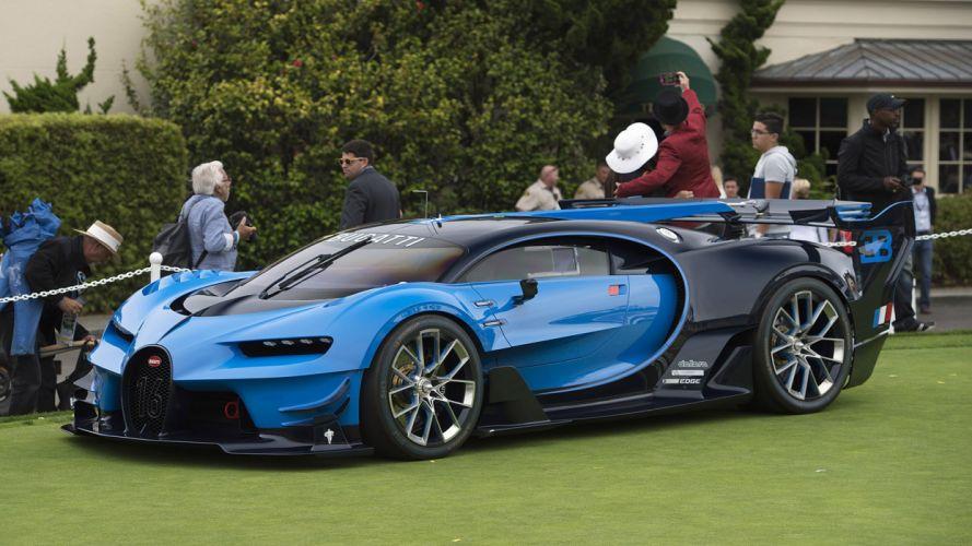 Bugatti Vision Gran Turismo concept cars wallpaper