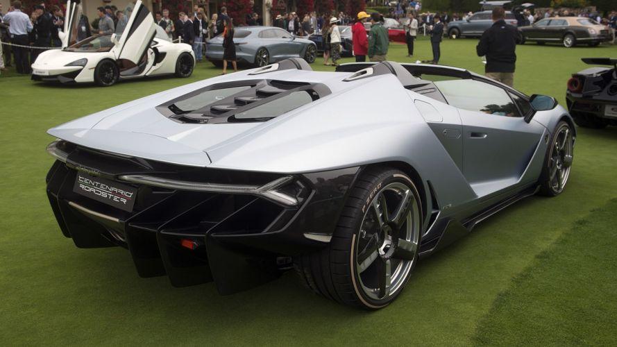 Lamborghini Centenario Roadster cars supercars wallpaper