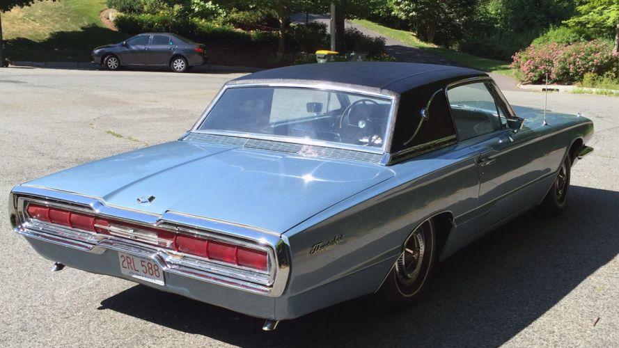 1966 FORD THUNDERBIRD cars classic wallpaper