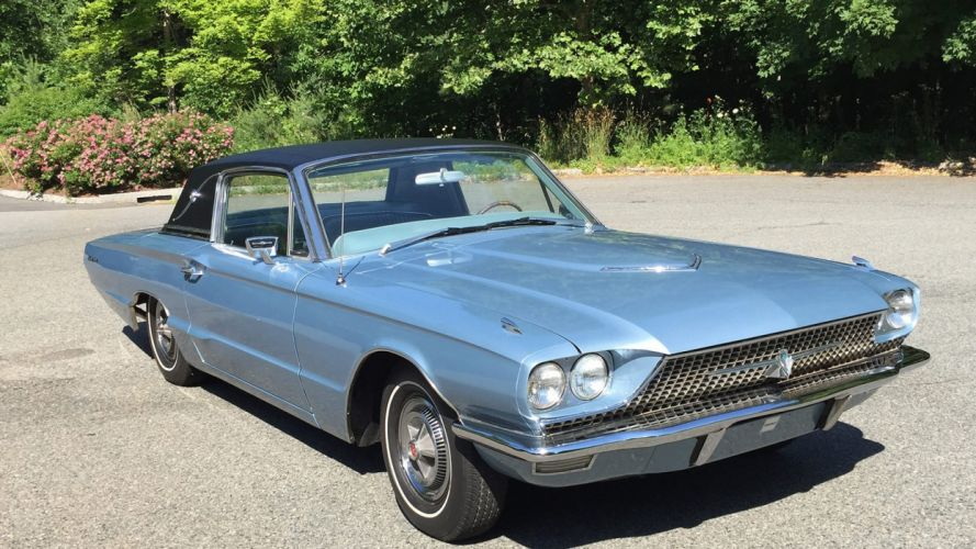 1966 FORD THUNDERBIRD cars classic wallpaper