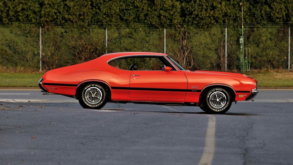 1970 OLDSMOBILE 442 W-30 cars coupe wallpaper