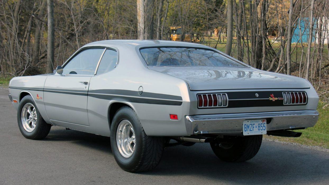1971 Dodge Demon 340 Cars Wallpaper 1664x936 1010738 Wallpaperup
