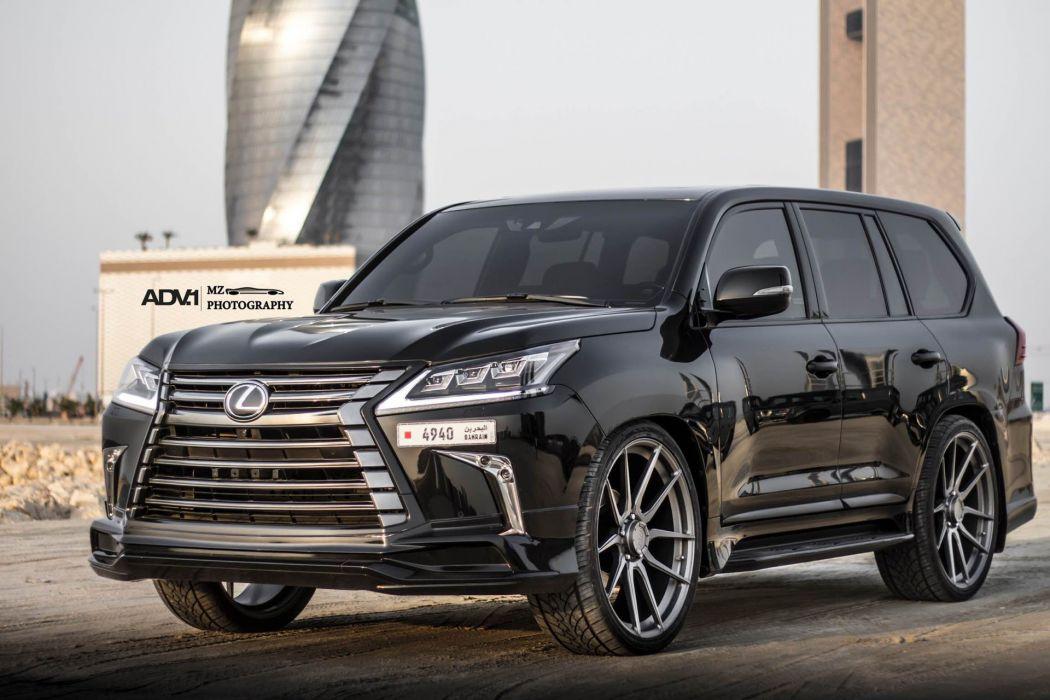 adv1 wheels LEXUS LX570 cars suv black wallpaper