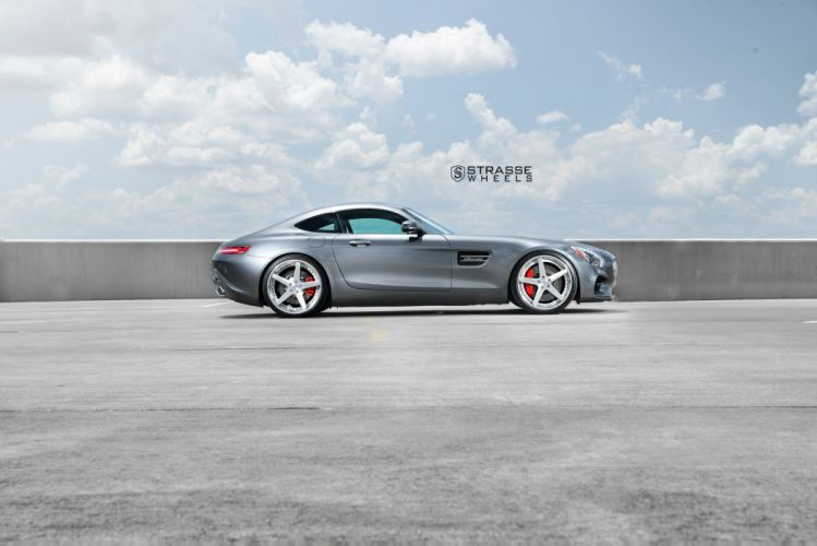 Strasse Wheels mercedes AMG GTs cars coupe wallpaper