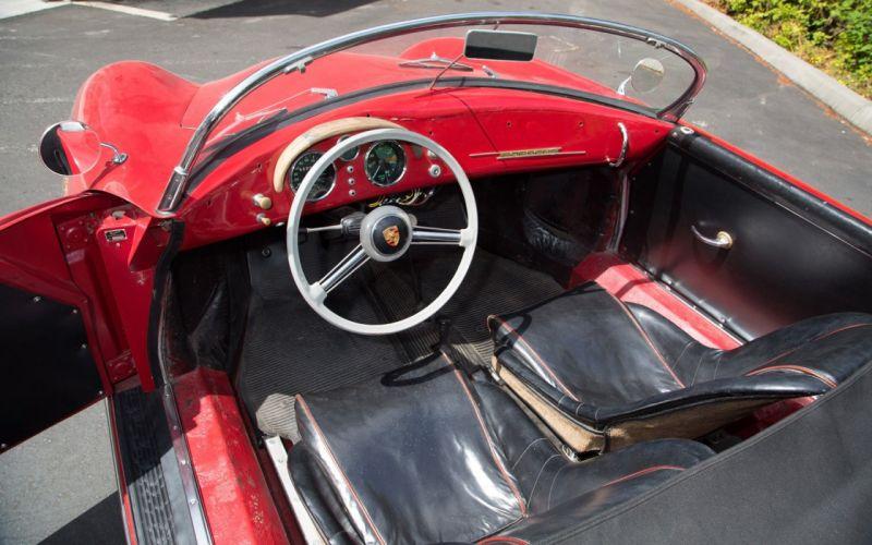 1954 Porsche 356 Speedster Signal Red classic cars wallpaper