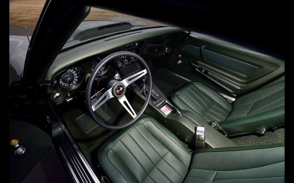 1969 Chevrolet Corvette (c3) L88 Convertible Fathom Green cars classic wallpaper
