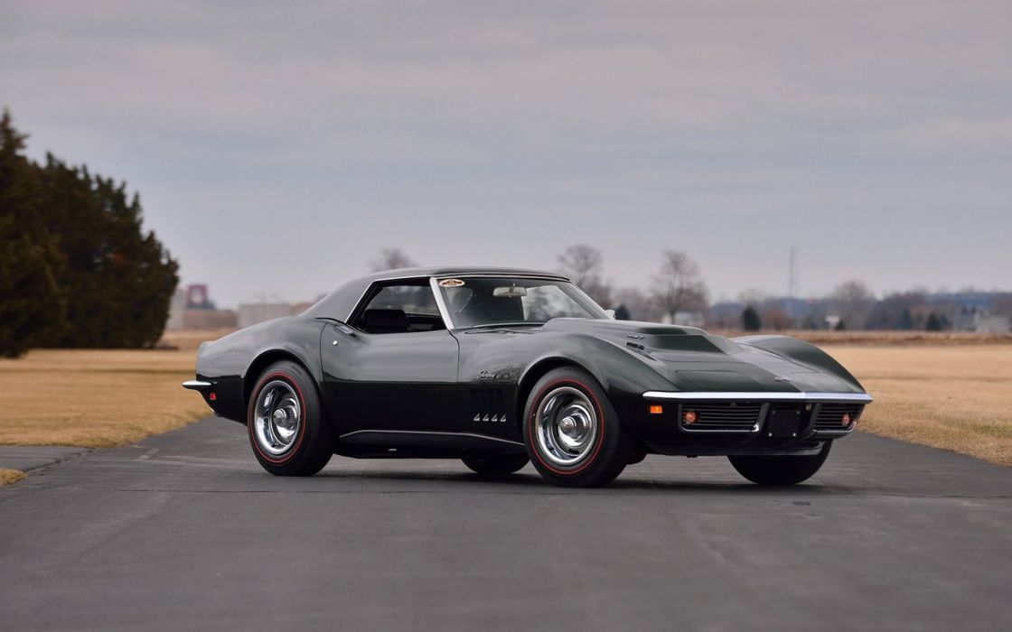 1969 Chevrolet Corvette (c3) L88 Convertible Fathom Green cars classic wallpaper