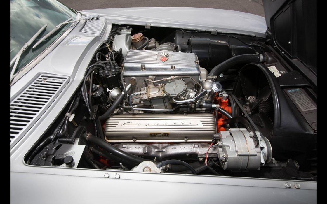 1963 Chevrolet Corvette (c2) Z06 Tanker cars classic wallpaper