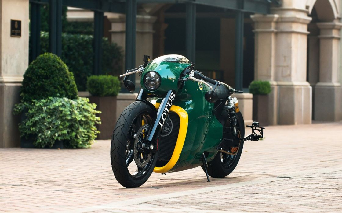 2014 Lotus Motorcycles C-01 Green wallpaper