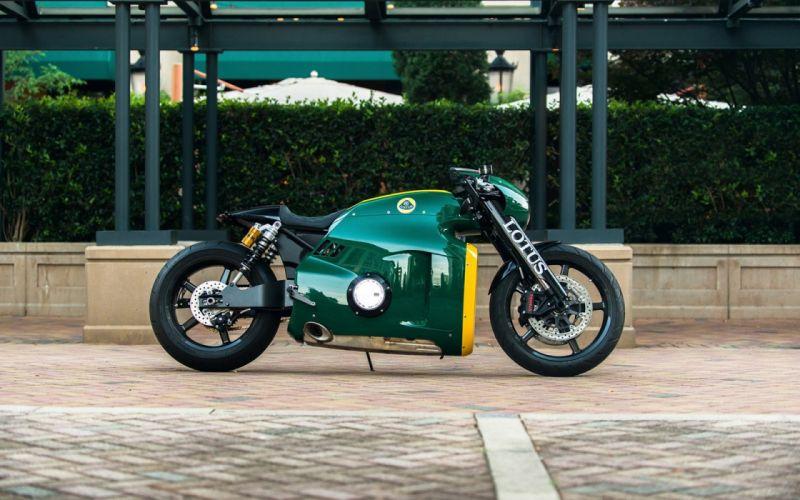 2014 Lotus Motorcycles C-01 Green wallpaper