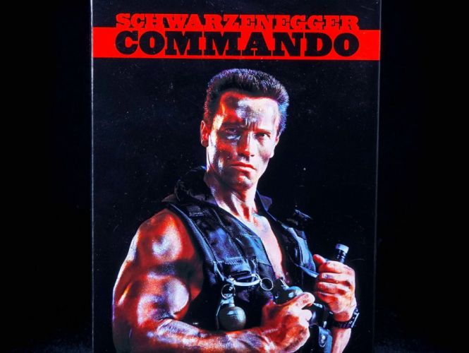 COMMANDO movie action fighting military arnold schwarzenegger soldier special forces adventure thriller movie film warrior fantasy sci-fi futuristic science fiction wallpaper