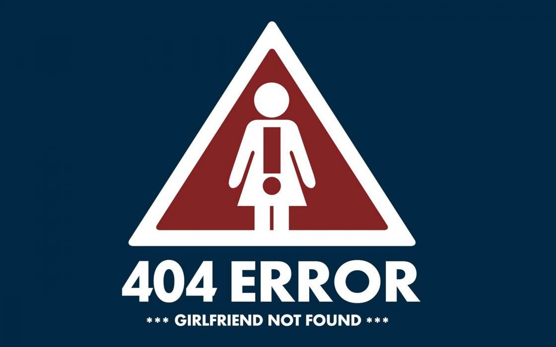 404 Girlfriend wallpaper