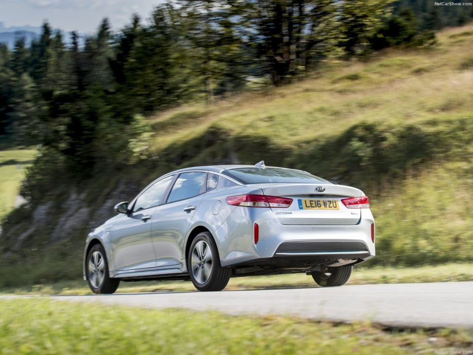 Kia Optima sedan UK-Version cars 2016 PHEV wallpaper