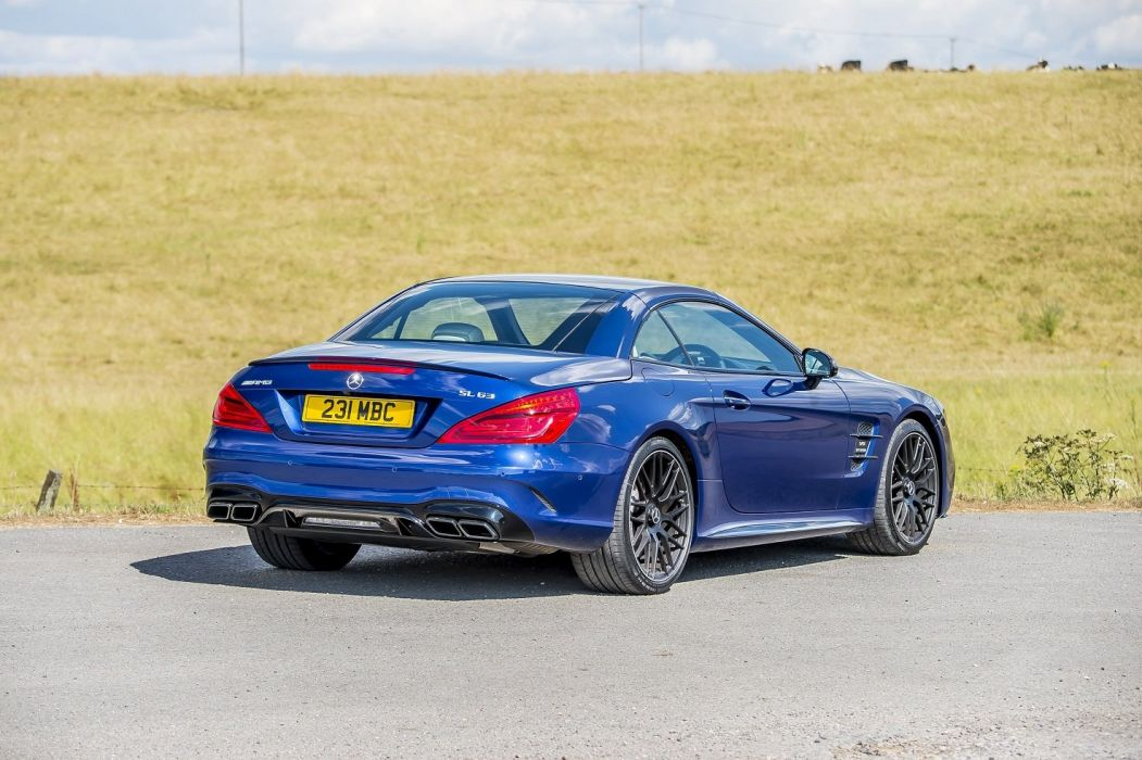 Mercedes AMG SL63 UK-spec (R231)cars roadster blue 2016 wallpaper