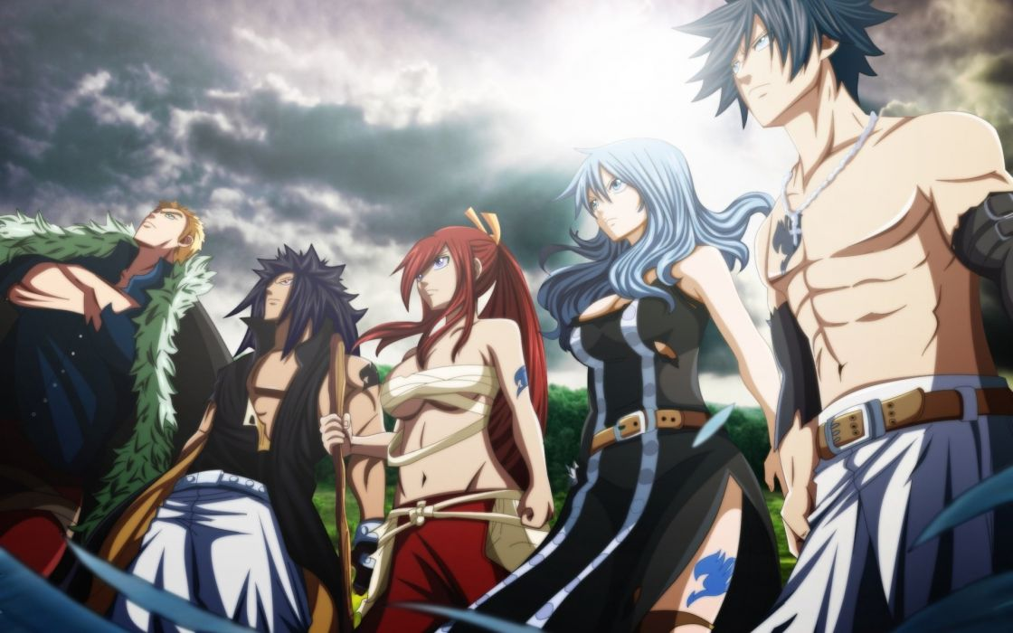 anime fairy tail future tabs fairy tale of the tail erza scarlet art wallpaper