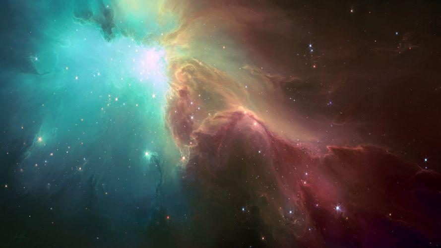 art stars space hell escape artist tyler creates worlds nebula wallpaper