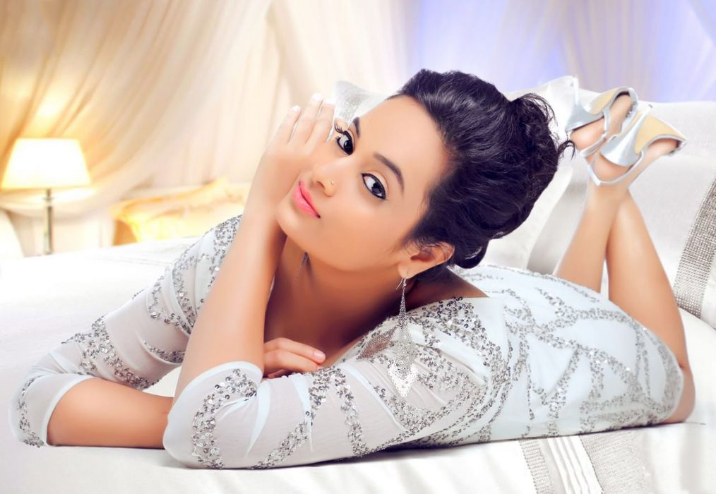 Suja Varuni bollywood actress model girl beautiful brunette pretty cute beauty sexy hot pose face eyes hair lips smile figure indian  wallpaper