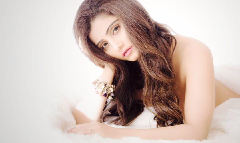 Aqsa Bhatt bollywood actress model girl beautiful brunette pretty cute beauty sexy hot pose face eyes hair lips smile figure indian wallpaper