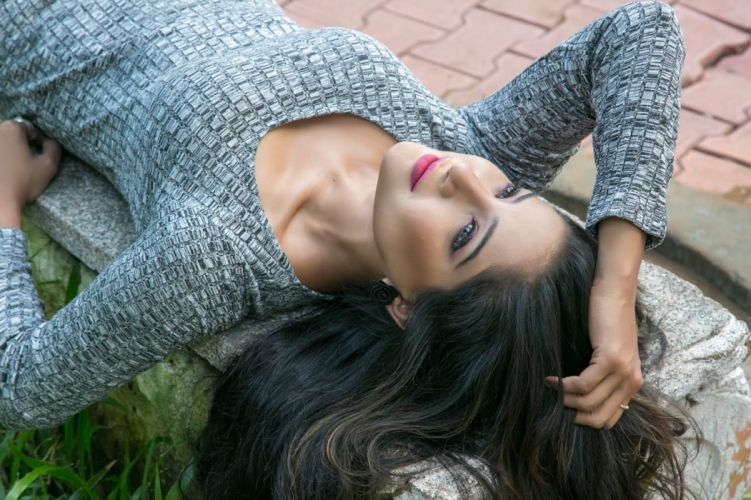 Sakshi Agarwal bollywood actress model girl beautiful brunette pretty cute beauty sexy hot pose face eyes hair lips smile figure indian wallpaper