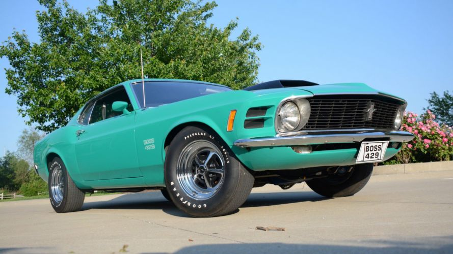1970 FORD MUSTANG BOSS 429 FASTBACK cars classic wallpaper