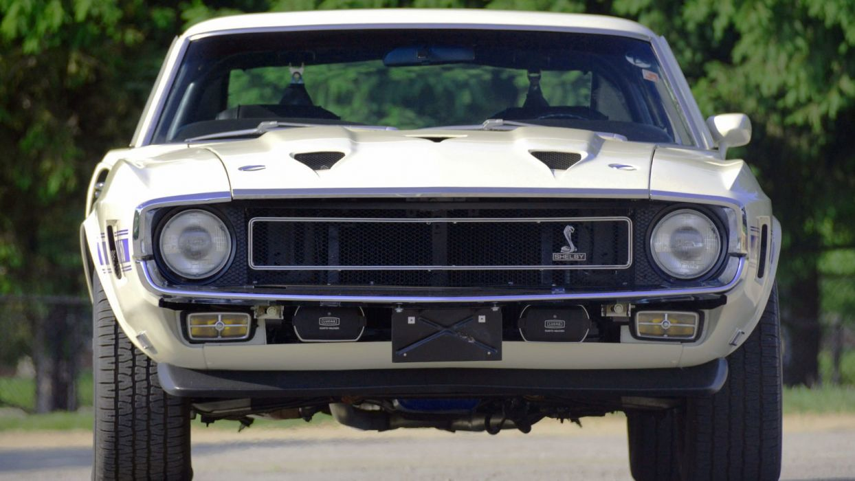 1969 SHELBY GT350 FASTBACK cars white classic wallpaper