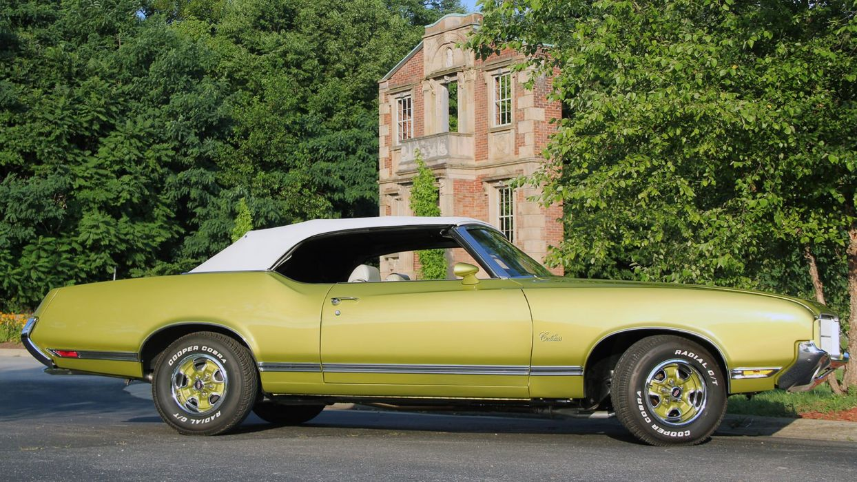 1971 OLDSMOBILE CUTLASS SUPREME CONVERTIBLE cars wallpaper