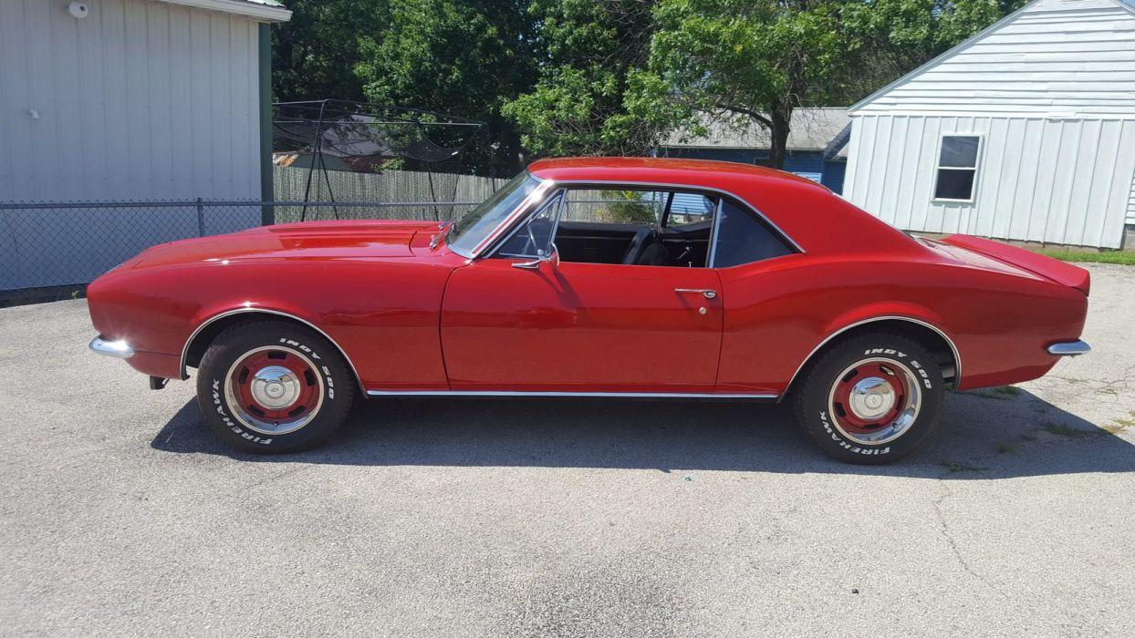 1967 CHEVROLET CAMARO cars red wallpaper