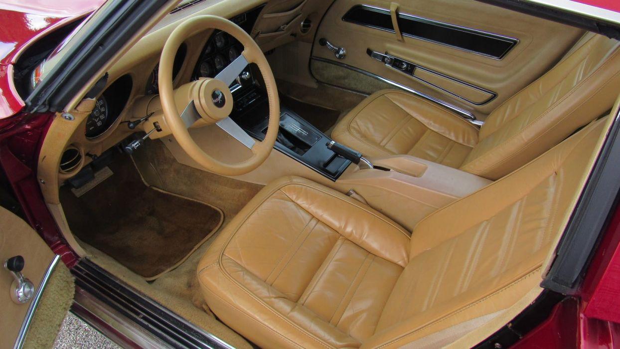 1977 (c3) CHEVROLET CORVETTE COUPE cars wallpaper