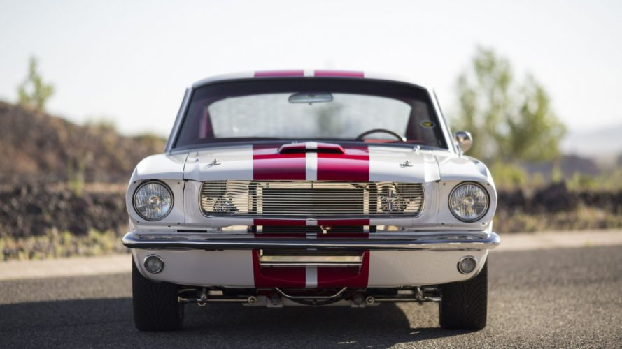 1966 FORD MUSTANG fastback cars modified white wallpaper