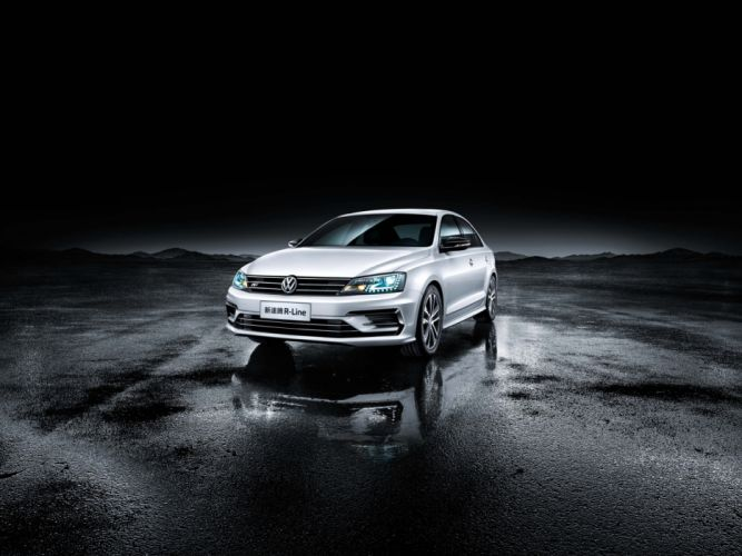 Volkswagen Sagitar R-Line cars sedan 2016 wallpaper