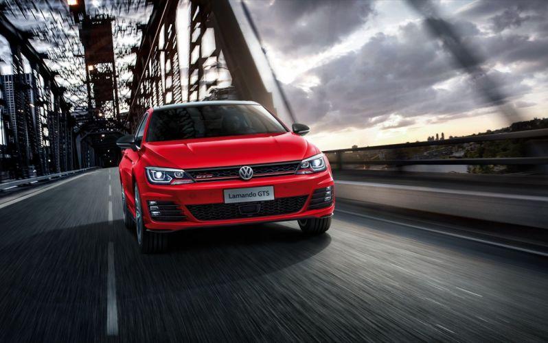 Volkswagen Lamando GTS cars sedan 2016 wallpaper