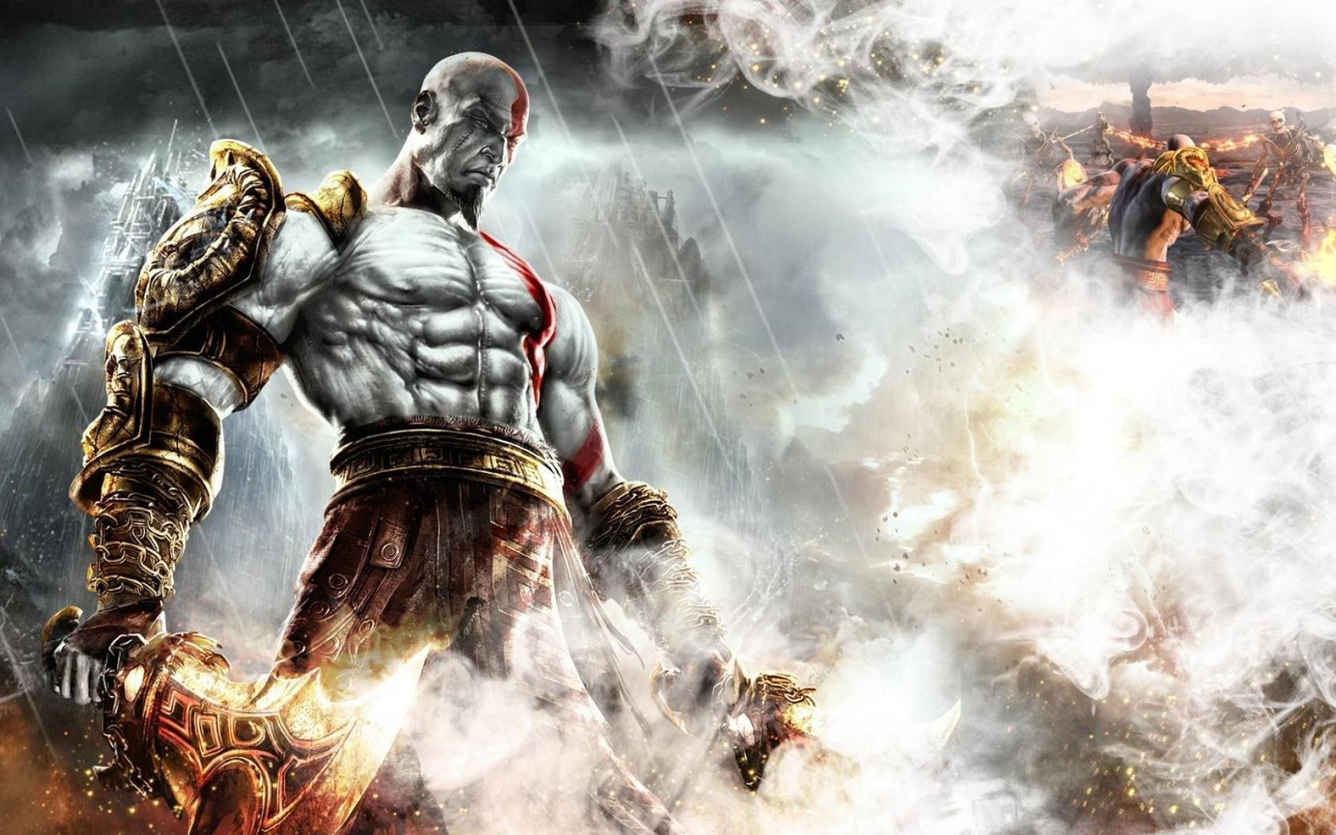 God Of War Game Video Action Adventure Fantasy Fighting