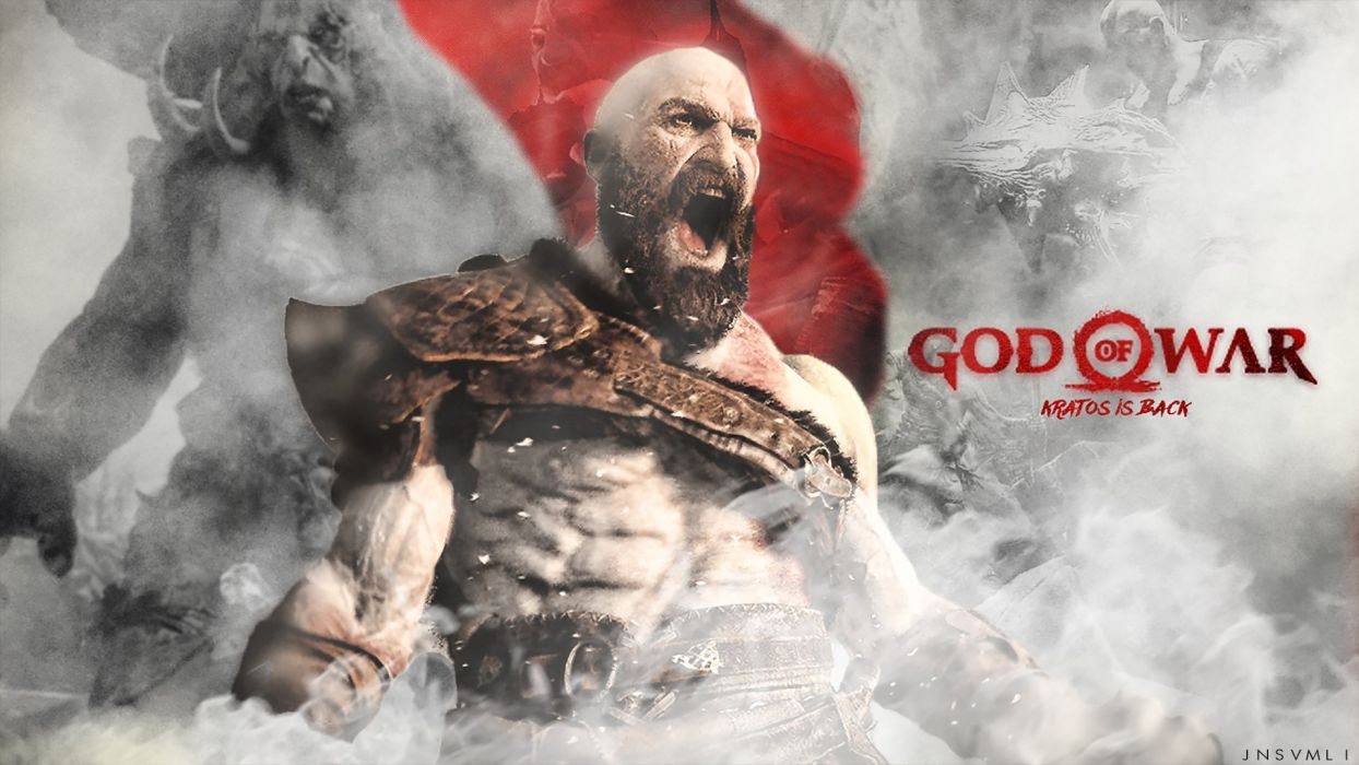 God Of War Game Video Action Adventure Fantasy Fighting Warrior