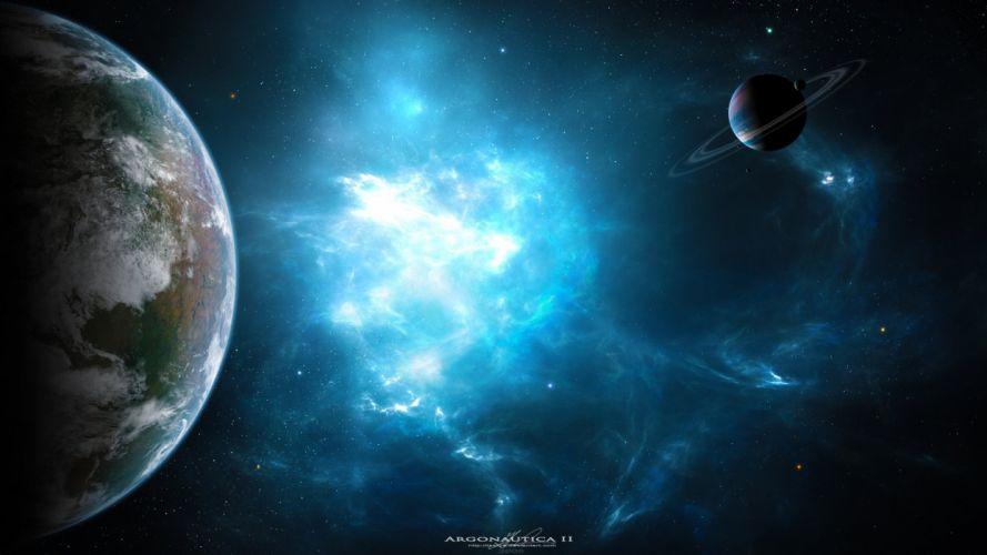 space art art space nebula planets nebula planet wallpaper