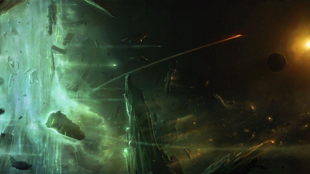 asteroids space stones ashley barely dangerous elite art wallpaper