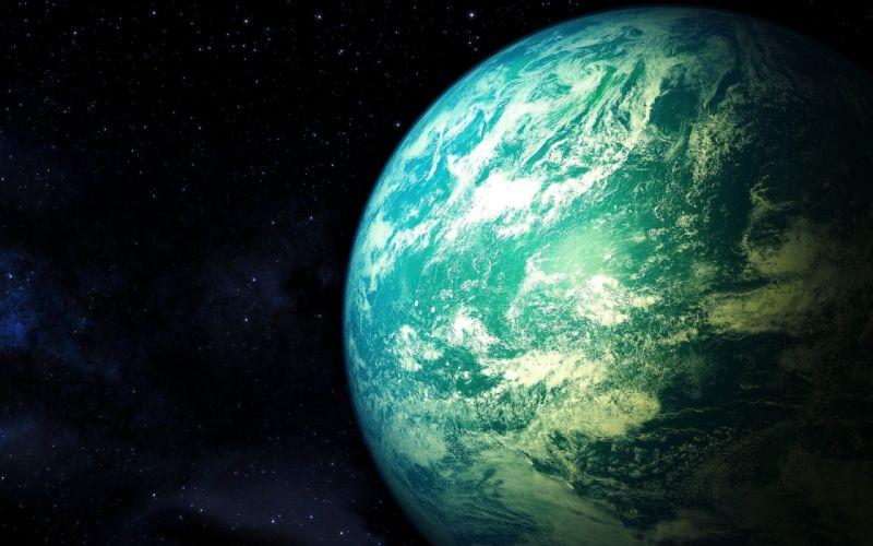 art atmosphere Dethklok planet space stars wallpaper