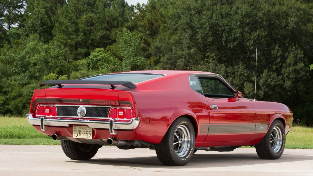 1973 FORD MUSTANG MACH 1 FASTBACK cars wallpaper
