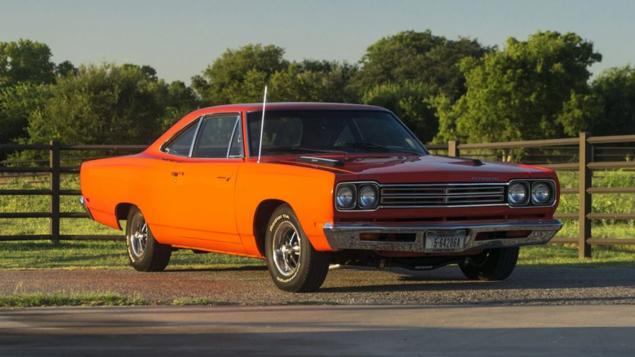 1969 PLYMOUTH ROAD RUNNER cars coupe wallpaper