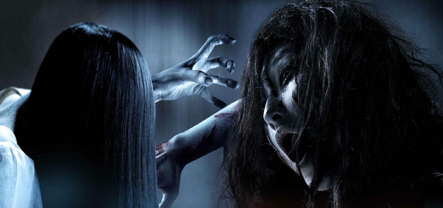 RINGS horror movie film dark evil thriller supernatural psychological ghost ring grudge sadako kayako ringu bunshinsaba scary macabre spooky halloween poster wallpaper