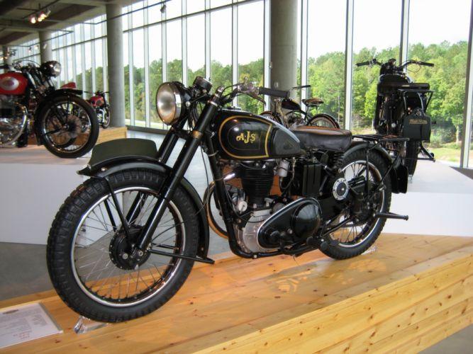 AJS motorcycle motorbike bike classic vintage retro race racing british wallpaper