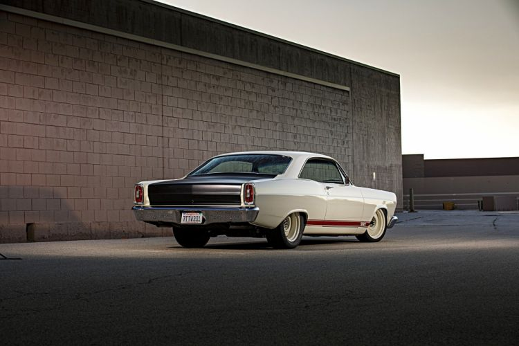 1966 Ford Fairlane cars classic coupe white wallpaper
