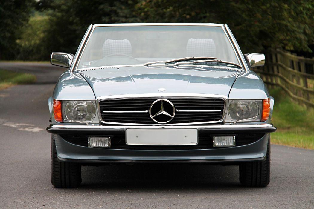 Mercedes Benz 500-SL UK-spec (R107) cars convertible 1986 wallpaper