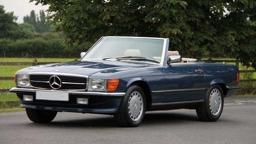 Mercedes Benz 300-SL (R107) cars convertible 1985 wallpaper